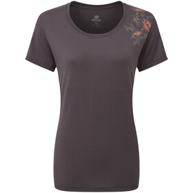 Sherpa Hawa Camiseta Mujer, kharani grey